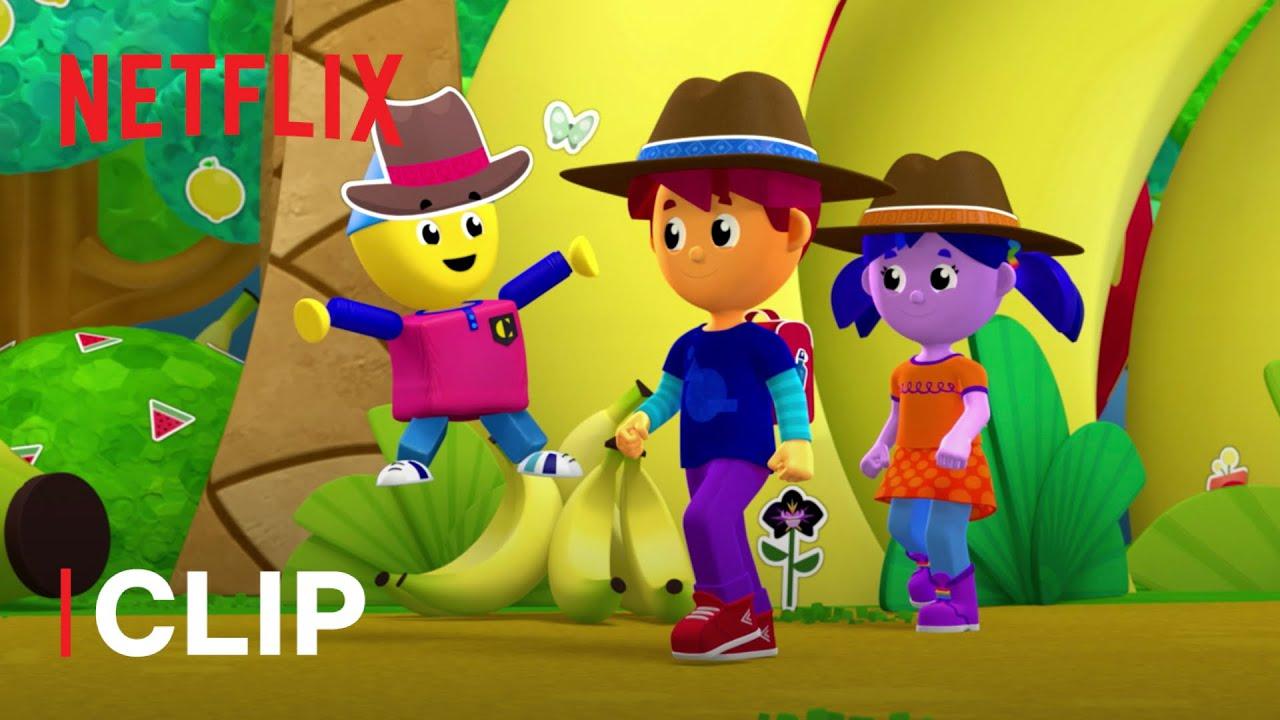 Colorforms 🌈 Cosa c'è alla fine dell'arcobaleno? | Netflix Jr