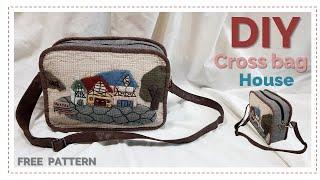 [Sewing] DIY 퀼트가방-아플리케 '유럽…