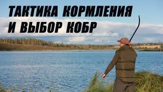 Тактика кормления  и выбор кобры для рыбалки.