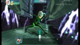 Monsters vs. Aliens Movie Game Walkthrough Part 25 (Wii)