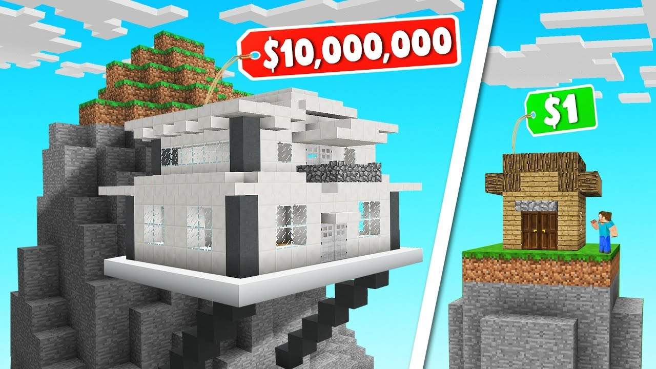 MINECRAFT Build The MOST ELITE HOUSE Challenge! thumbnail