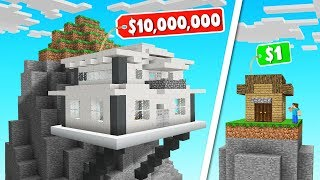 MINECRAFT Build The MOST ELITE HOUSE Challenge!