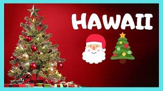 HONOLULU, the spectacular CHRISTMAS City Hall Lights (Hawaii)