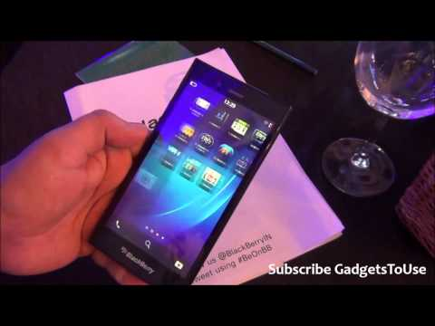 Blackberry Z3 Hands on, Quick Review, Camera, Features, Software and Overview HD