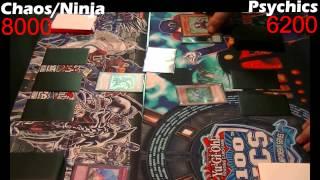Yugioh Duel: Psychics Vs Chaos/ninjas - Round 1