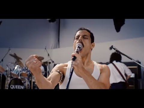 "The trailer for the QUEEN biopic movie ""Bohemian Rhapsody"".. is now on line."