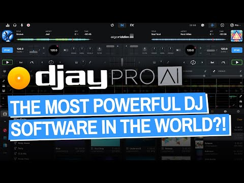 Most Powerful DJ Software In The World? New djay Pro AI For Mac