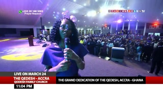 WATCH REVIVAL@7, LIVE FROM THE QEDESH, ACCRA - GHANA.