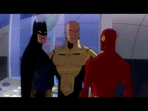 Batman tells The Flash he is too slow (Crisis on Two Earths)