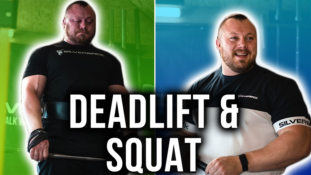DEADLIFTS AND SQUATS BEFORE THE STRONGMAN CLASSIC!