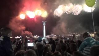 салют в Севастополе, 9 мая 2015 г.
