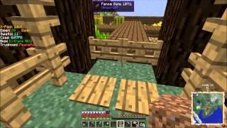 """Minecraft z modami #13 """"Mała szklarnia"""""""