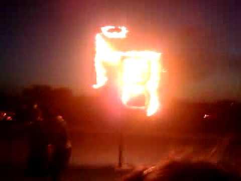 FB burning
