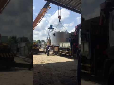 Cty lăp đặt lò ủ dây thép Đại Đồng Phát