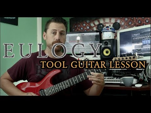 Eulogy Tool Guitar Lesson