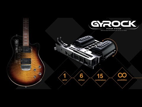 "Summer NAMM 2019: Wild Custom's ""revolutionary"" Gyrock system allows you to switch between 6 pickups mid-song 