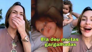 BELLA FILHA DE CLAUDIA LEITE TIRANDO ONDA DE UMA MULHER NA RUA 😂