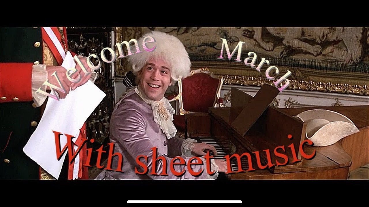 Salieri S Welcome March