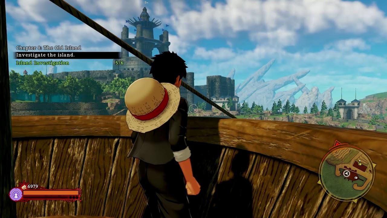 One Piece World Seeker Ruins Map Treasure Location