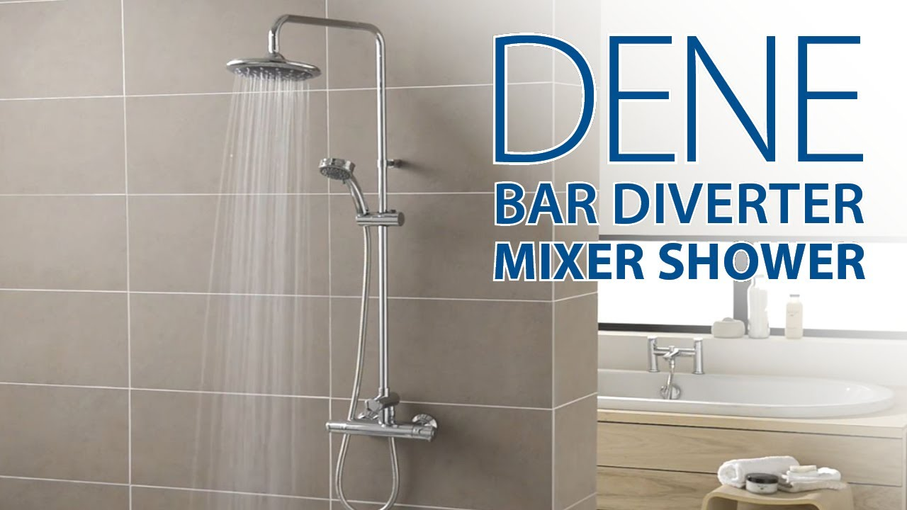 "Free Flow Mixer Shower: ""dene Bar Diverter"" Short Video Clip From"