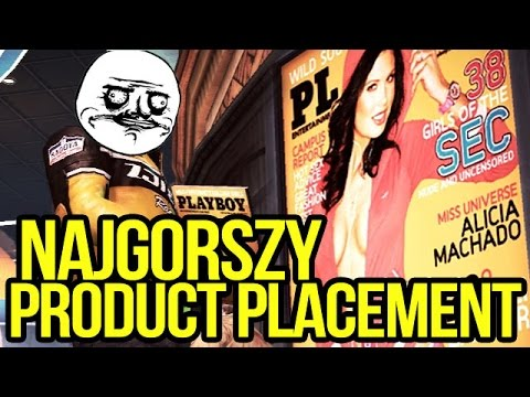 Zombie Playboy?! NAJGORSZY product placement w grach [tvgry.pl]
