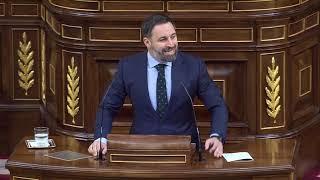 ⚡️ Espectacular repaso de Santiago Abascal a Sánchez en el Congreso