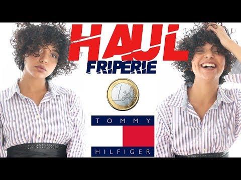 HAUL FRIPERIE | Du Ralph lauren et du Tommy hilfiger pour 1€