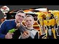 ПАПА ЛЕША и КИРИЛЛ в магазине машин Тони Старка! Трансформеры: часть 1!