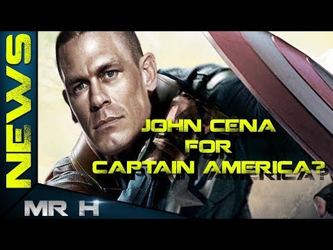 John Cena Campaigning To Be CAPTAIN AMERICA? Mp3