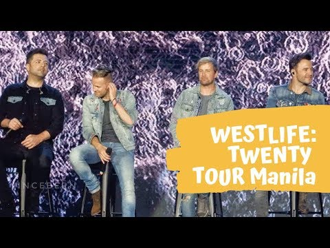 #WESTLIFE TWENTY TOUR DAY 1 - LIVE IN MANILA 2019
