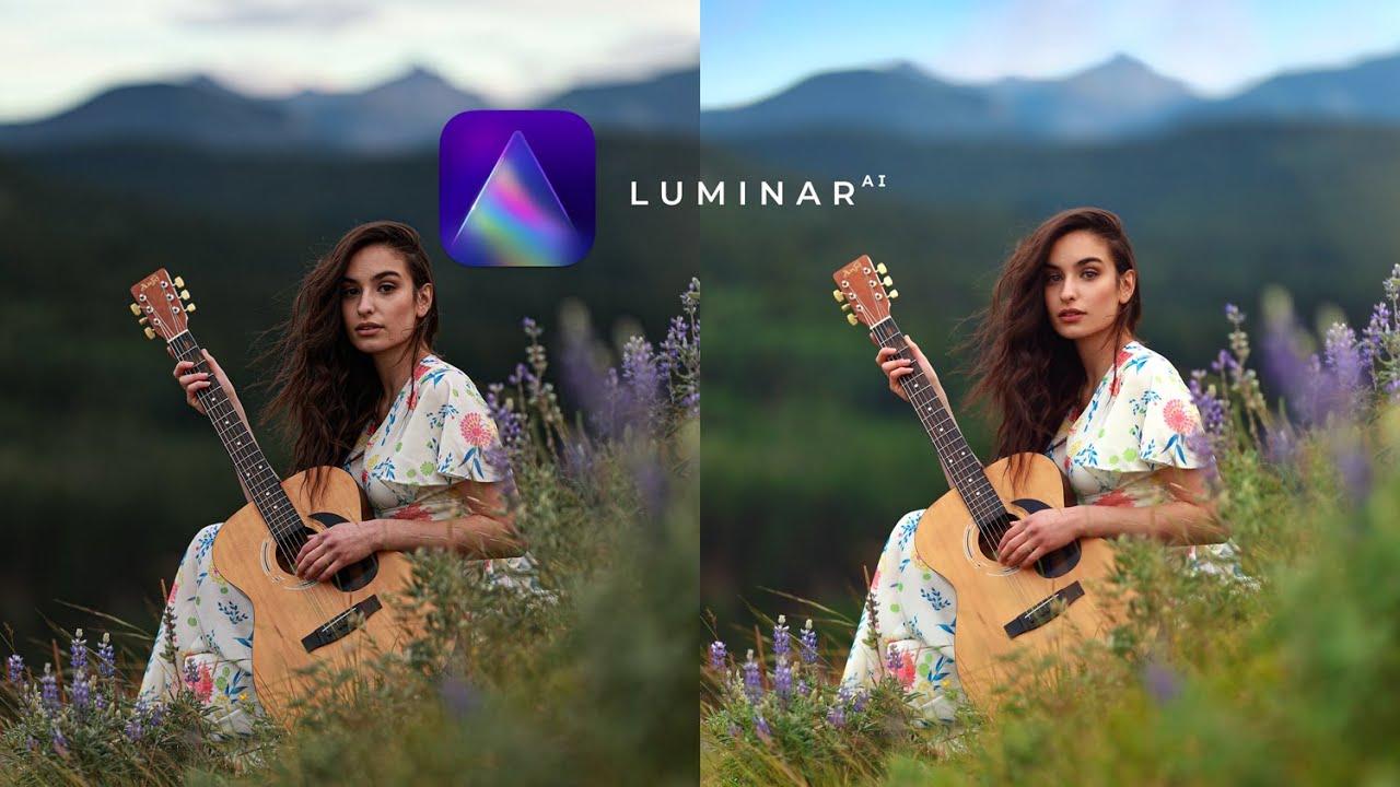Portrait Editing Tutorial using Luminar AI, Easy Beginner Friendly