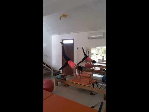 Copia de Exercitando com pilates reformer em allegra pilates studio