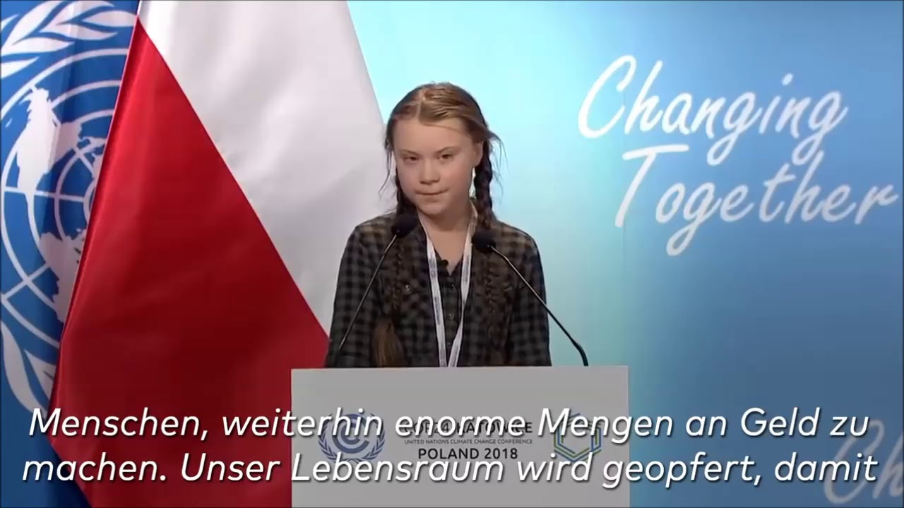 "Greta Thunberg Wikipedia: ""Fridays For Future""-Demo*- Greta Thunberg"