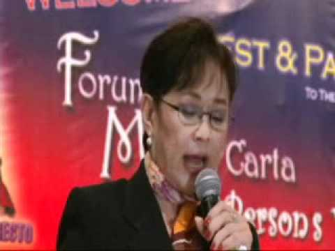 Forum on Magna Carta for Persons with Disability