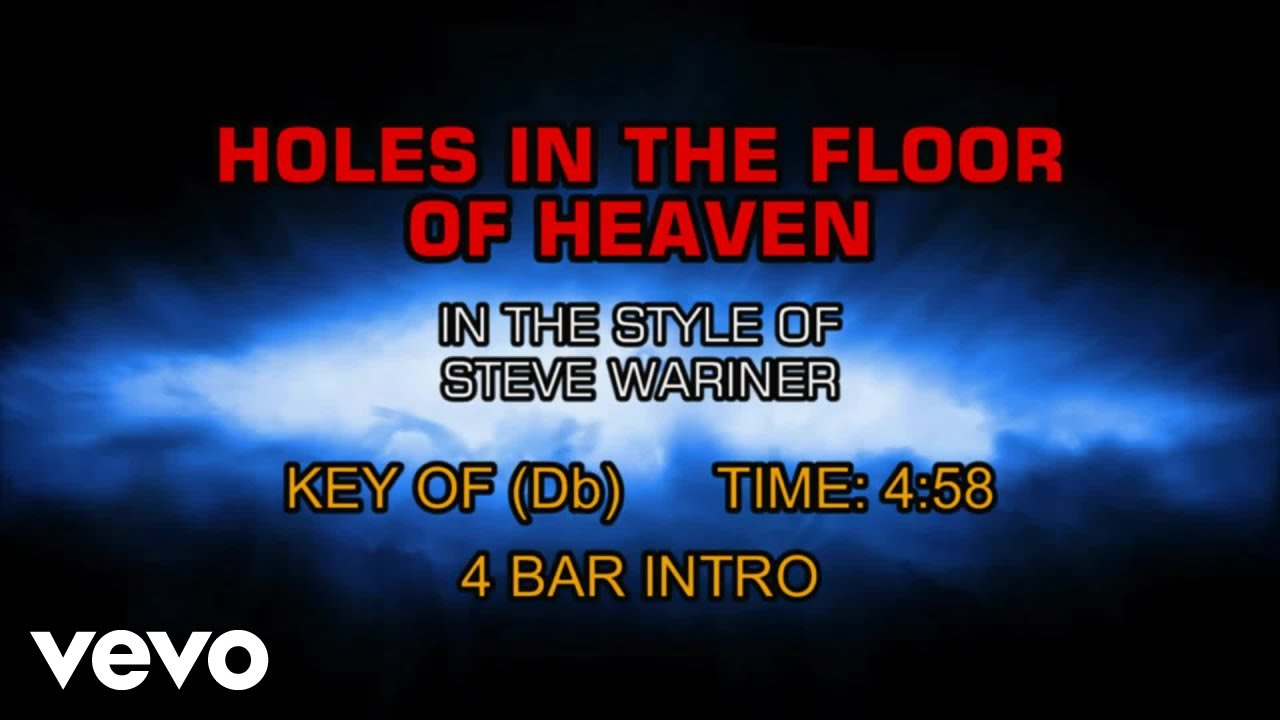 Steve Wariner - Holes In The Floor Of
