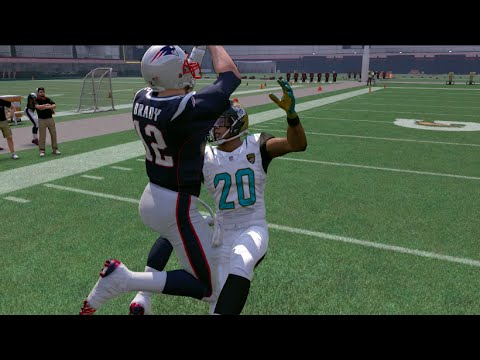 Can Tom Brady Catch A 99 Yard Touchdown Pass | Madden NFL 17 Challenge