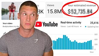 How much YouTube paid me for my 15,000,000 viewed video