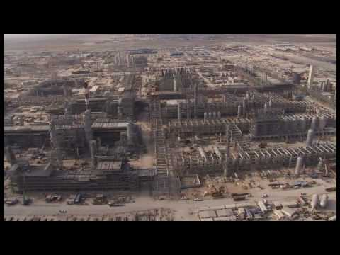 Shell LNG production reactor  facilities Qatar