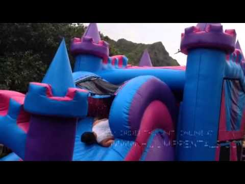 4in1 Ali'i Princess Castle Combo from Hi Jump Rentals LLC  (808) 589-9000