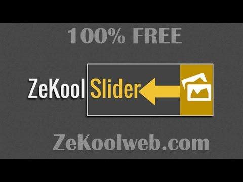 ★NEW★ ZekoolSlider, le Slider le plus simple pour le nouveau Jimdo.