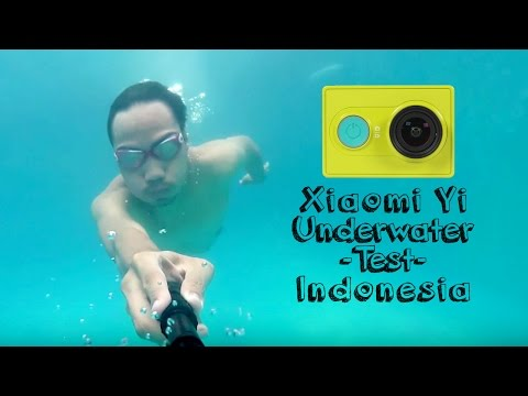 Xiaomi Yi Underwater Test / Tes dalam air Indonesia HD