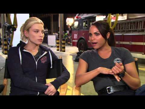 Lauren German and Monica Raymund's 'Chicago Fire' Thanksgiving Episode