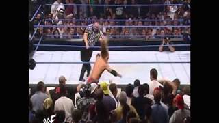 FULL MATCH - SmackDown - The Rock vs. Edge and Christian