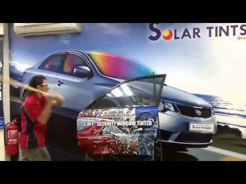 Solar Tint - Security Film Effect