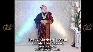 FLS2N 2021- Menyanyi Tunggal SD - Tanoh Lon Sayang - Isyana Khazinatul Asrar - SDN 5 Langsa - Aceh