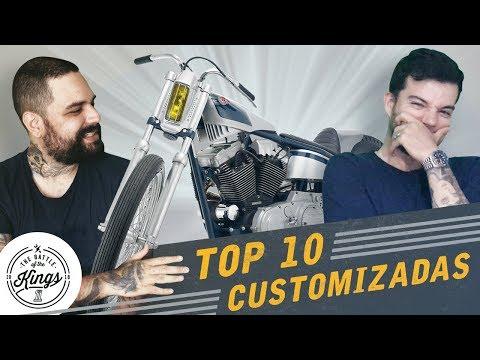 Top 10 motos customizadas - Motorama #130