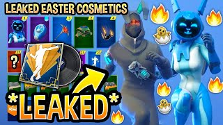 *NEW* All Leaked Fortnite Skins & Emotes..! *EASTER SKINS* (Gemini Skin, Electro swing Muisic Pack!)