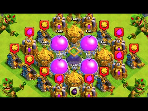MOST LOOT POSSIBLE! - Clash of Clans -
