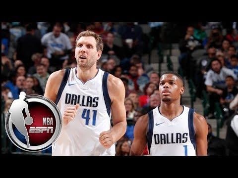 Dallas Mavericks passing torch from Dirk Nowitzki to Dennis Smith Jr.   ESPN
