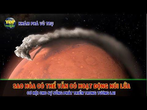 Sao Hỏa có thể vẫn có những hoạt động núi lửa trên bề mặt | Khoa học vũ trụ - Top thú vị |